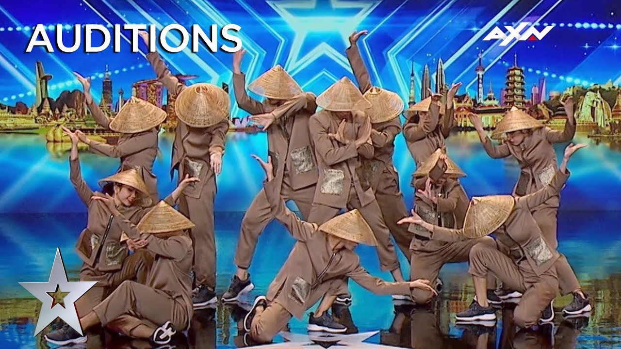 BEAUTIFUL East Meets West Dance From Vietnam | Asia's Got Talent 2019 on AXN Asia