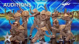 BEAUTIFUL East Meets West Dance From Vietnam   Asia's Got Talent 2019 on AXN Asia