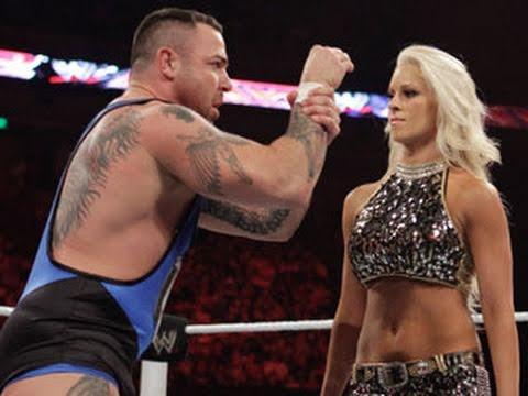 Raw: Santino Marella & Tamina vs. Ted DiBiase & Maryse