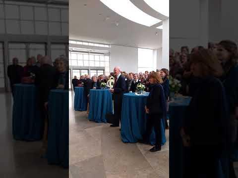 Thomas Gaehtgens reaction to his farewell video.