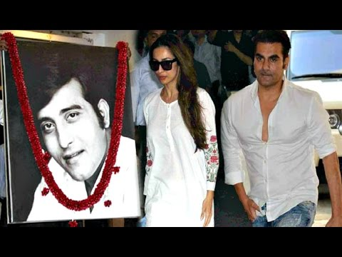 Malaika Arora Khan And Arbaaz Khan At Vinod Khanna Prayer Meet
