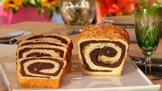 Choumicha : Pain au lait et raisins secs, noix et chocolat | شميشة : خبز بالحليب - بريوش ملون