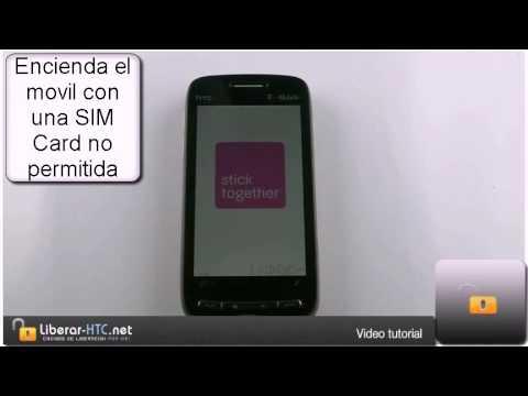Liberar HTC Touch Pro 2 / HTC Tilt2 / Desbloquear HTC Rhodium - Liberar todos los HTC