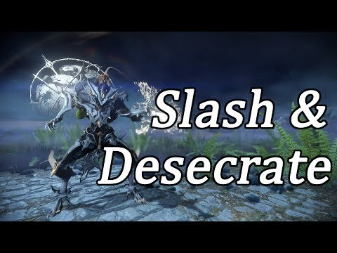 How Slash Damage works with Nekros Desecrate
