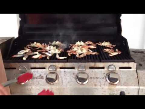 Cook Blue Crab On Grill