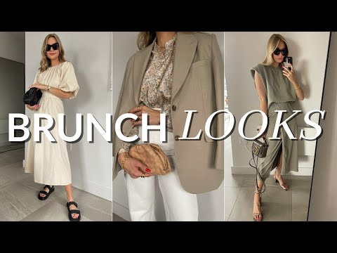 BRUNCH OUTFITS | Smart daytime looks for Spring/Summer - YouTube