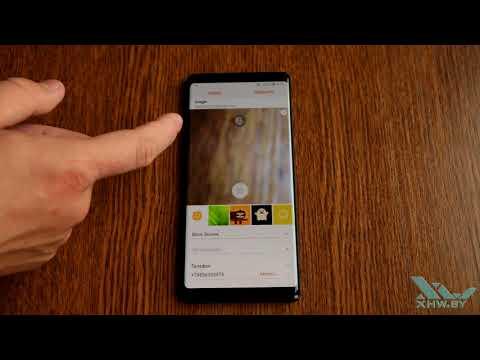 Как установить фото на контакт в Samsung Galaxy Note 8 (XHW.BY)