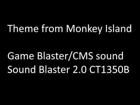 Theme From Monkey Island, Game Blaster/CMS Sound