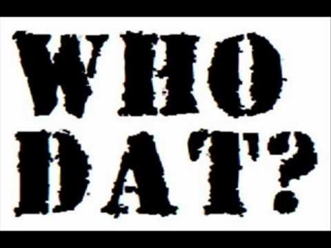 New Orleans Saints Anthem Song - Who Dat Black and Gold