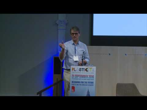 David Wilson from Vanden Recycling - Plasticity Forum, London