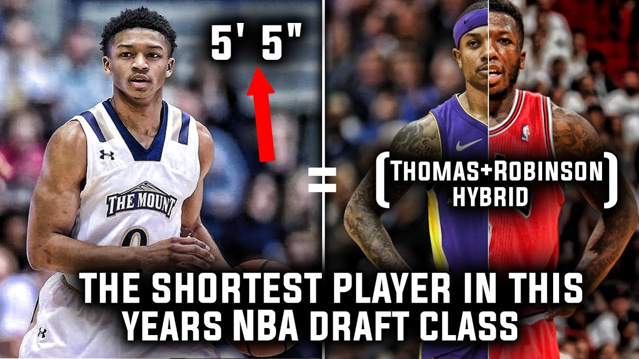 The shortest Player in this Years NBA Draft Class!