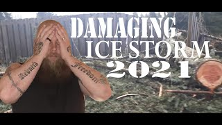 ICE STORM 2021 | DAMAGE IN OREGON | IS SOMEONE TALKING TO US?