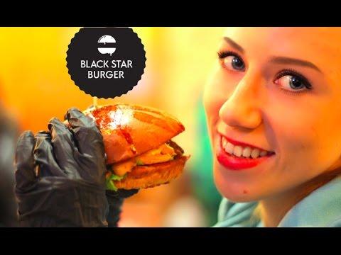 VLOG - BLACK STAR BURGER - ОБЗОР...