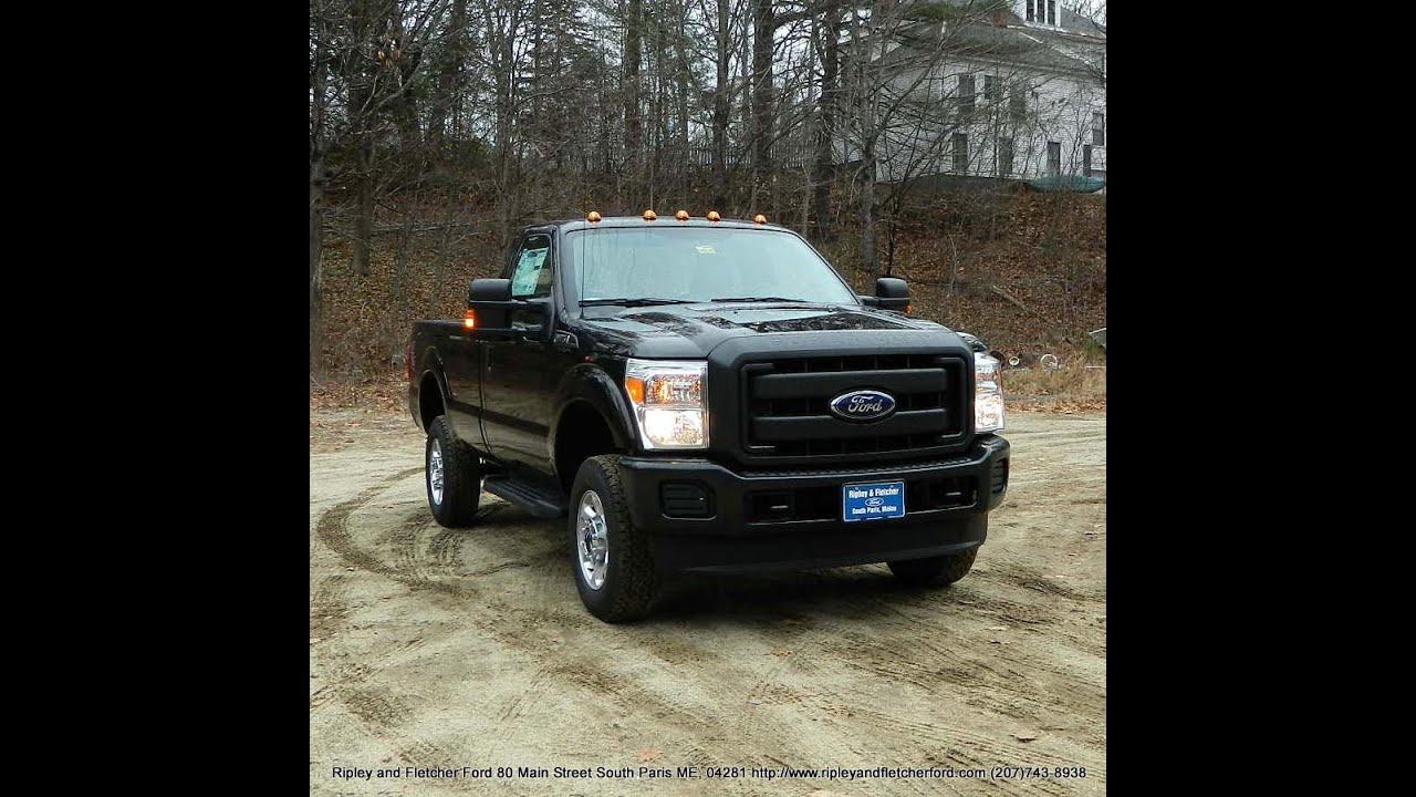 best price 2016 ford f350 regular cab 4x4 for sale near portland maine youtube. Black Bedroom Furniture Sets. Home Design Ideas
