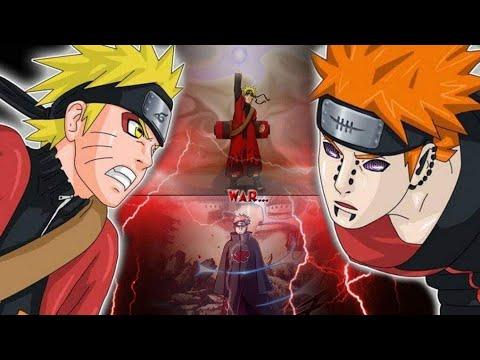 Naruto Shippuden Power Levels Pain Arc