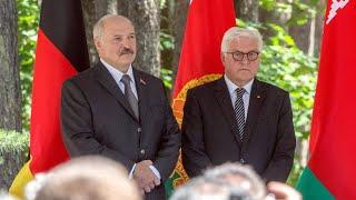 Steinmeier und Amtskollegen eröffnen Gedenkstätte in Weißrussland
