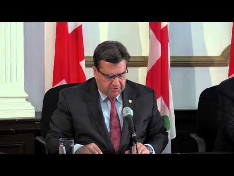 Mayor Coderre gives details of 2016 budget