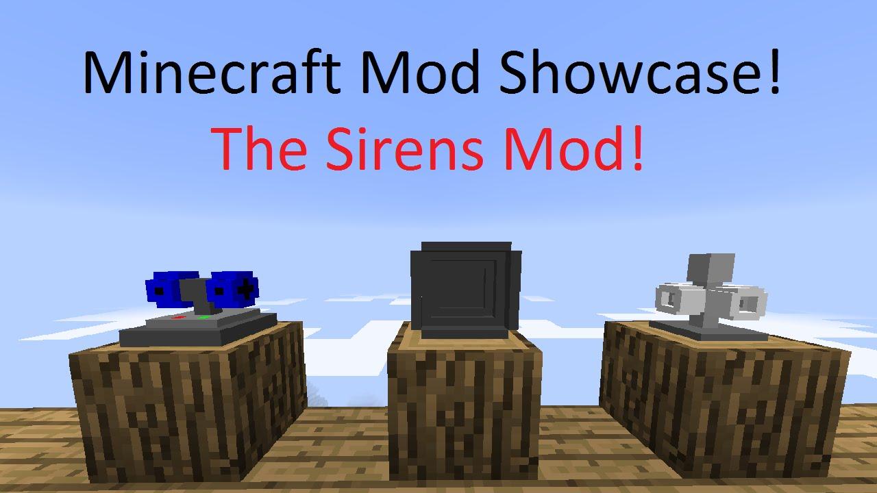 Minecraft Mod Showcase The Sirens Mod Nuke Sirens