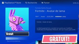 HAVE A SECRET AVATAR FOR FREE (PS4)! FORTNITE Battle Royale (Free Fortnite Gift)