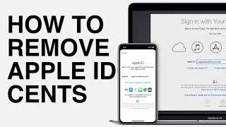 HOW TO REMOVE APPLE ID CENTS...!!!!