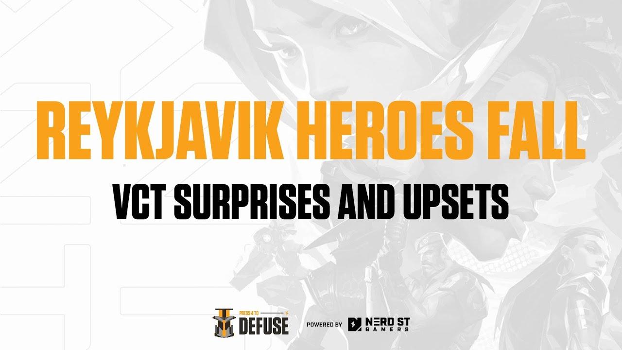Reykjavik heroes fall | PRESS 4 TO DEFUSE EP 43