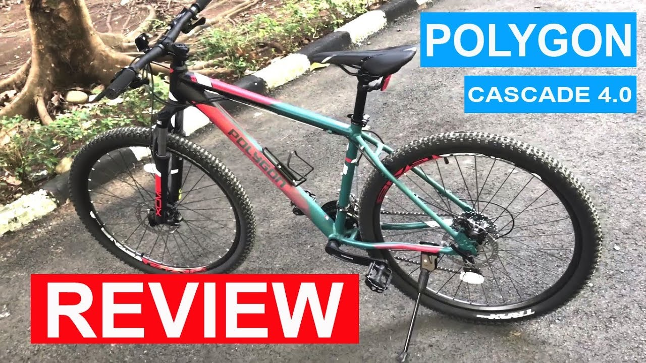 Review Polygon Cascade 4 Sepeda MTB Sangat cocok buat
