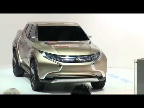เปิดตัวต้นแบบ All-New Mitsubishi Triton 2014-2015 ไทรทันโฉมใหม่ GR-HEV Concept (Diesel Hybrid)