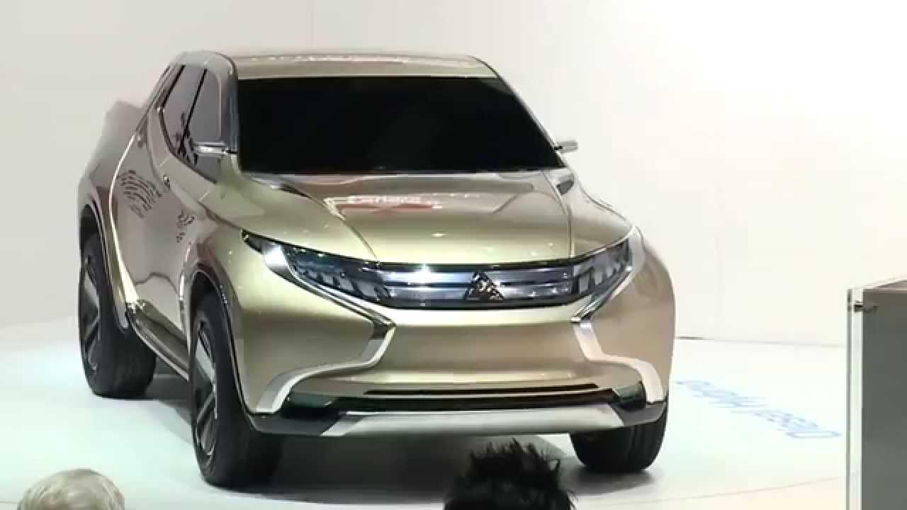 เปิดตัวต้นแบบ All New Mitsubishi Triton 2014 2015 ไทรทัน