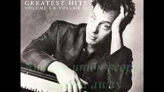 Billy Joel - Allentown (W/Lyrics)