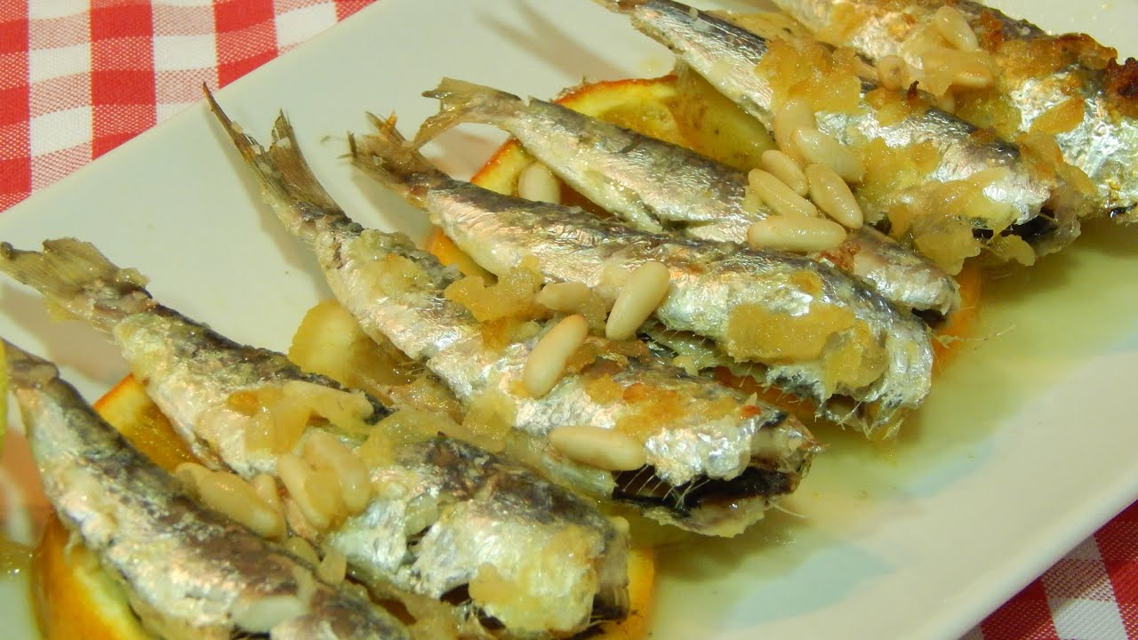 receta de sardinas al horno a la valenciana youtube