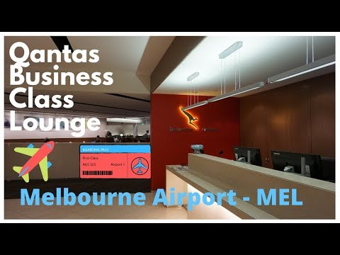 Qantas Business Class Lounge | Melbourne Airport | Terminal 2 | 11D18