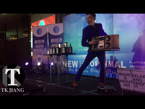Singapore Bilingual Modern Magician 新加坡双语现代魔术师 TK Modern STAGE Magic Showreel 现代舞台魔术作品集 2017