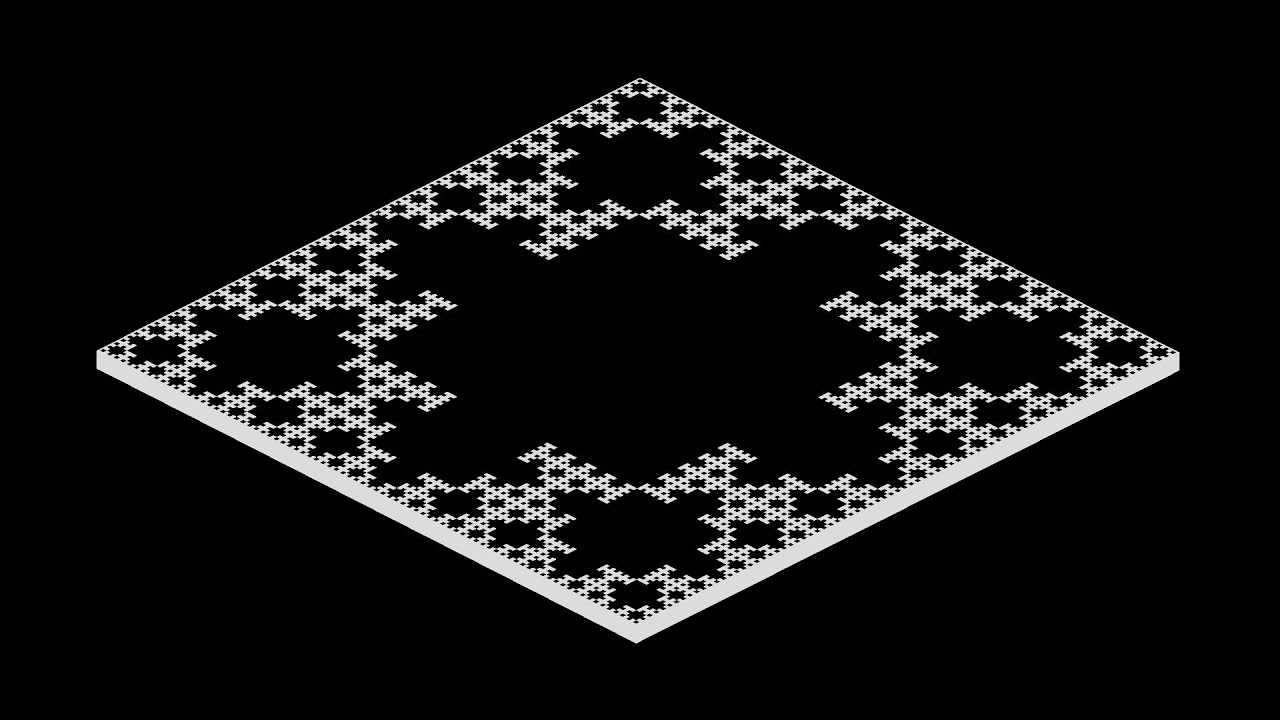 Fractals. But With ONLY NODES (Blender Tutorial)
