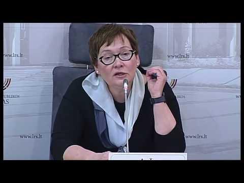 """2019-03-14 Seimo narės Aušros Maldeikienės sp. konf. """"Kam žiniasklaidai reikalinga laisvė: svarst..."""