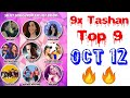 9x Tashan Top 9 Of This Week- October 12, 2018 | Latest Punjabi Songs October 2018 |