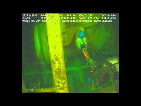 Subsea Vibration Monitoring, Baku - Caspian sea