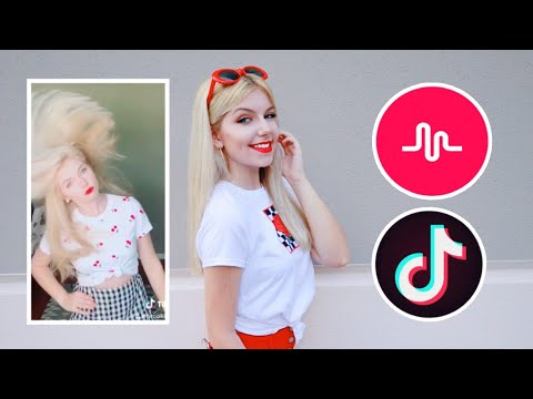 How To Do A Hair Flip Slow Motion On Musical.ly / Tik Tok UPDATED