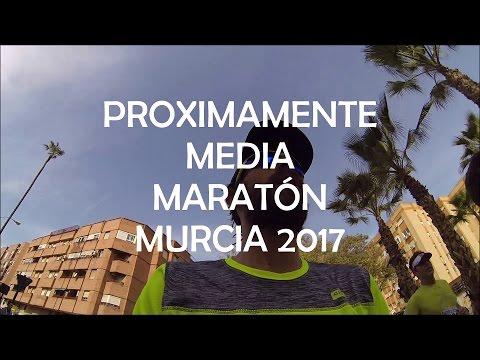 Proximamente Media maratón Murcia 2017 #fuerzaypiernas