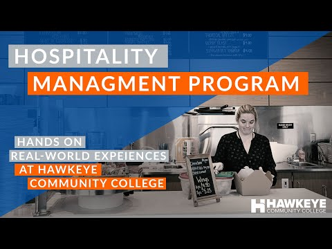 Hospitality Management Program at Hawkeye Community College