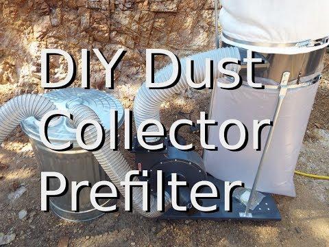DIY Dust Collector Prefilter Cyclone
