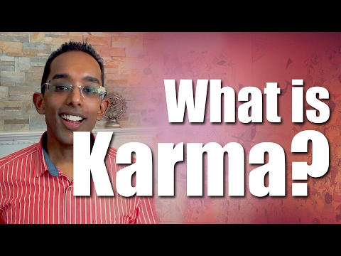 What is Karma and how does it relate to Hinduism?