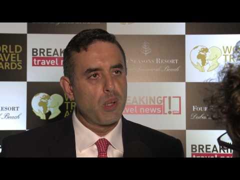 Alain Khalife, hotel manager, Sofitel Dubai Downton