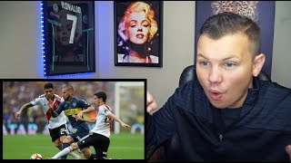 American Reacts To FINAL Copa Libertadores Boca Juniors vs River Plate