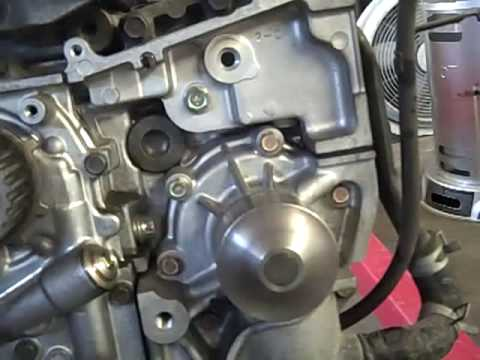 how to replace a subaru forester water pump youtube rh youtube com 4 Cylinder Boxer Engine Subaru Subaru 2.0 Boxer Engine Diagram