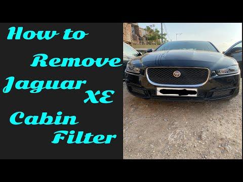 How to replace Jaguar xe cabin (Ac) filter