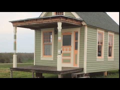 Tiny Texas Houses FOR SALE The Vickie Victorian Cottage YouTube