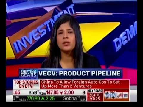 Mr.Vinod Agarwal, MD & CEO, VECV speaks about CV Industry on BTVI