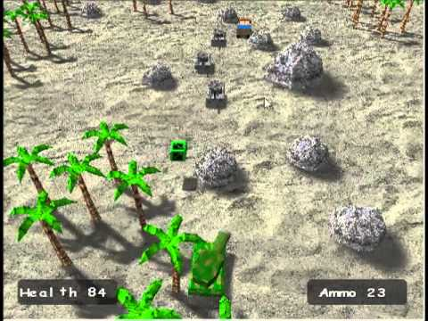 Battle Tank 2,  Arcade Style