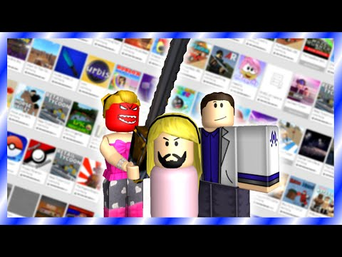5 Types Of Front Page Games on ROBLOX