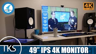 The Absolute Best 4K Monitor! | 49